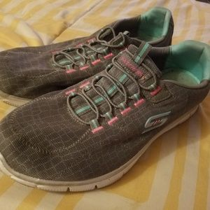 Skechers womens running shoes.